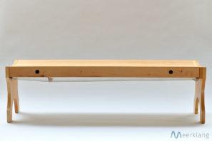 Klangliege, Seitenansicht - Manufaktur Meerklang