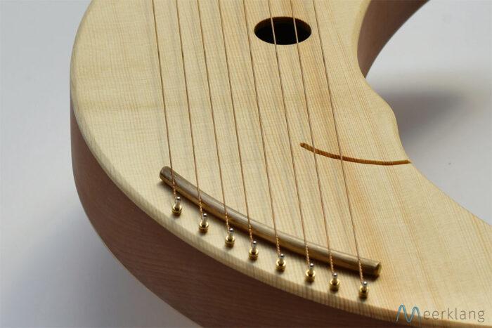 Mondharfe, Detail - Manufaktur Meerklang