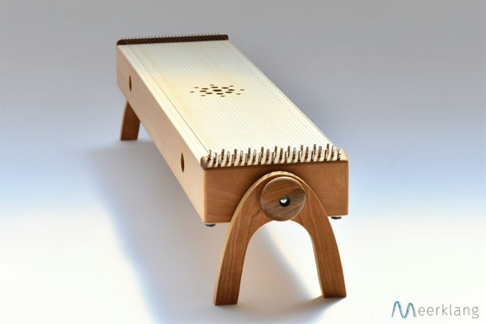 Monochord, sideview - Manufactory Meerklang